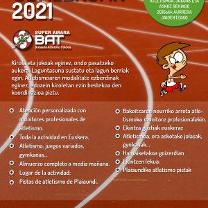 UDA2021_Bidasoa Atletiko taldea_verano-irun
