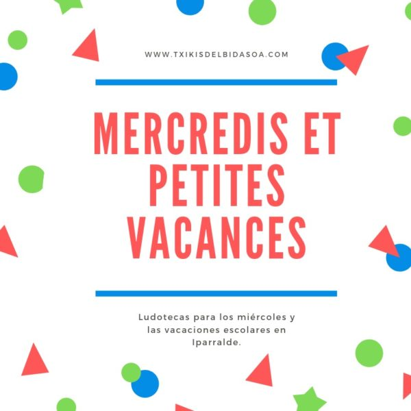 miércoles y vacaciones escolares Francia