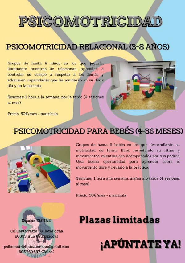 psicomotricidad para bebés-espacio emhan_Irun