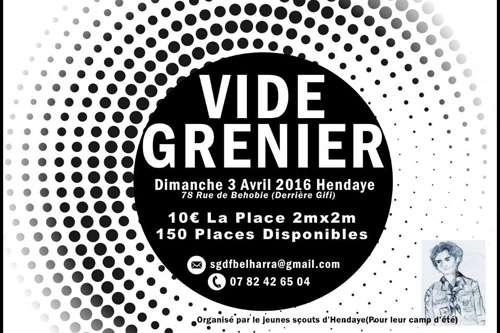 Vide Grenier el domingo en Hendaia