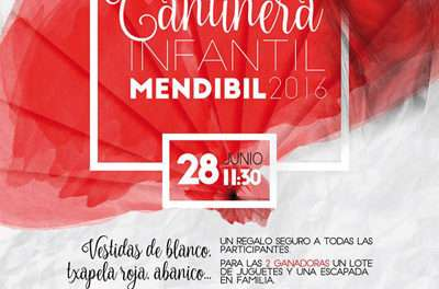 5ª elección de «Cantinera infantil Mendibil 2016»