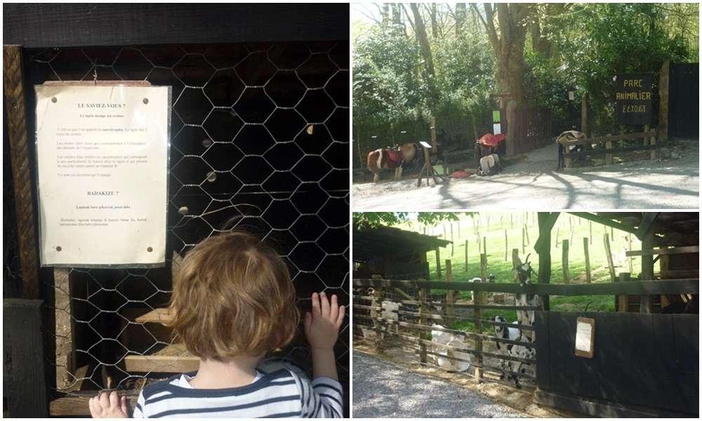 Parque de animales domésticos Etxola, en Sara