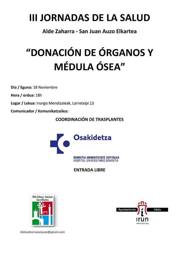 irun-iii-jornadas-de-la-salud_donacion-de-organos-y-medula-osea