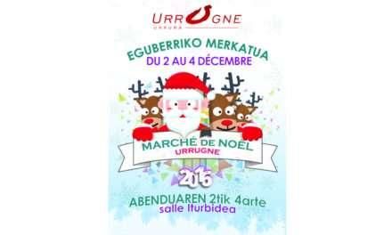 Marché de Noël de Urrugne 2016