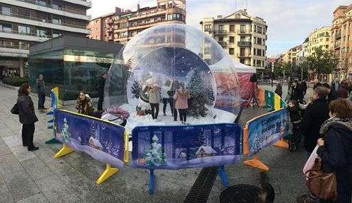 bola-de-nieve-gigante-irun