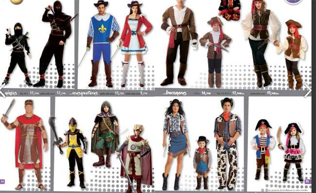Disfraces y complementos para carnaval en Toy Planet Jostamendi -Irun