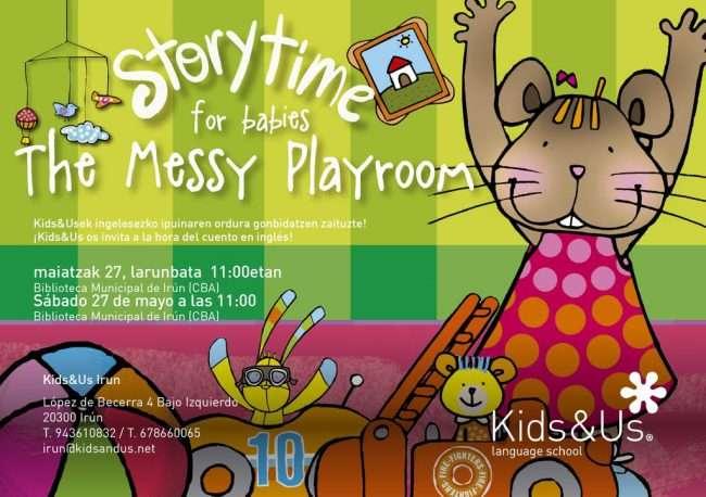 kids&Us Irun_story time