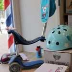 A pasear en Triciclo , patinete, Bici,incluso en patinete eléctrico