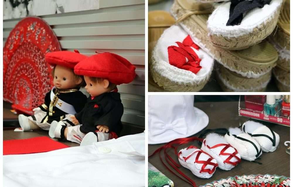 Ropa de San Marcial para niños en la mercería Txukun