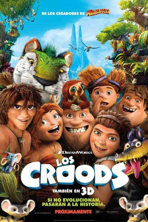 THE CROODS-Biblioteca Municipal CBA -iRUN