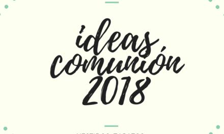Ideas para la primera comunión 2018 :  Compritas para los peques