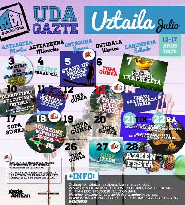 UDA GAZTE 2018 - SMOOTHIES Y GRANIZADOS-irun