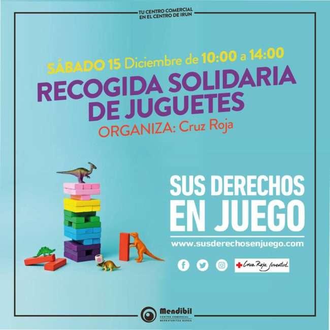 recogida solidaria de juguetes- centro comercial mendibil-Irun