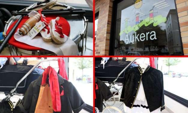 Aukera : ropa de segunda mano para San Marcial