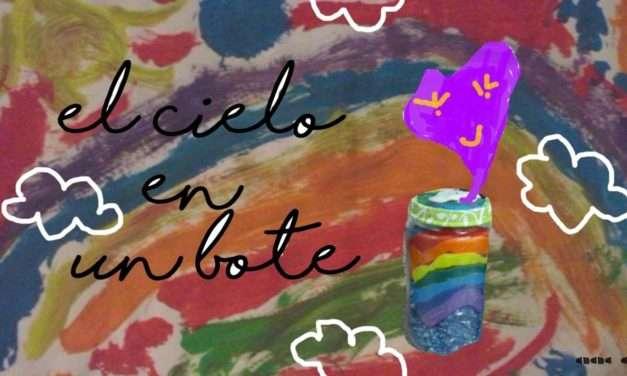 Manualidad : el cielo en un bote #26 con Anana Art