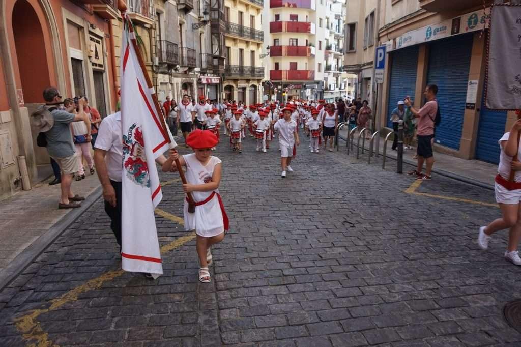 tamborrada infantil-Santiagoko Deabruak Kultur Elkartea-IRUN