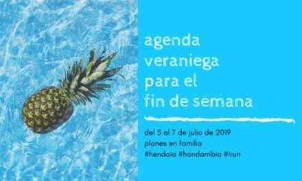 Agenda para el fin de semana del 5 al 7 de julio