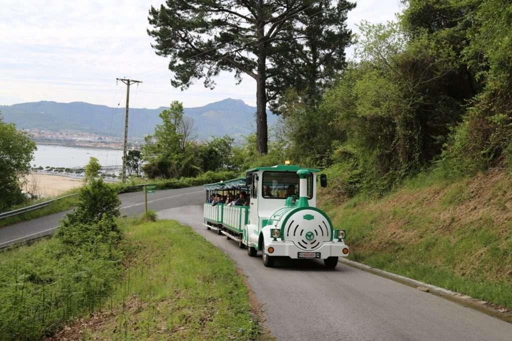 tren verde-arma plaza-Hondarribia