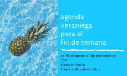 Agenda para el fin de semana del 30 de agosto al 1 de septiembre