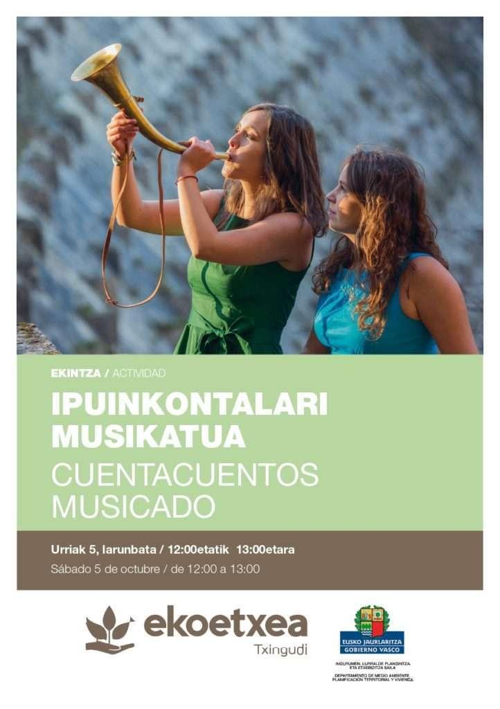 cuentacuentos musicado-ekoetxea txingudi-Irun