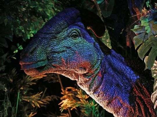 Dinosaurs tour, exposición de Dinosaurios-urbil