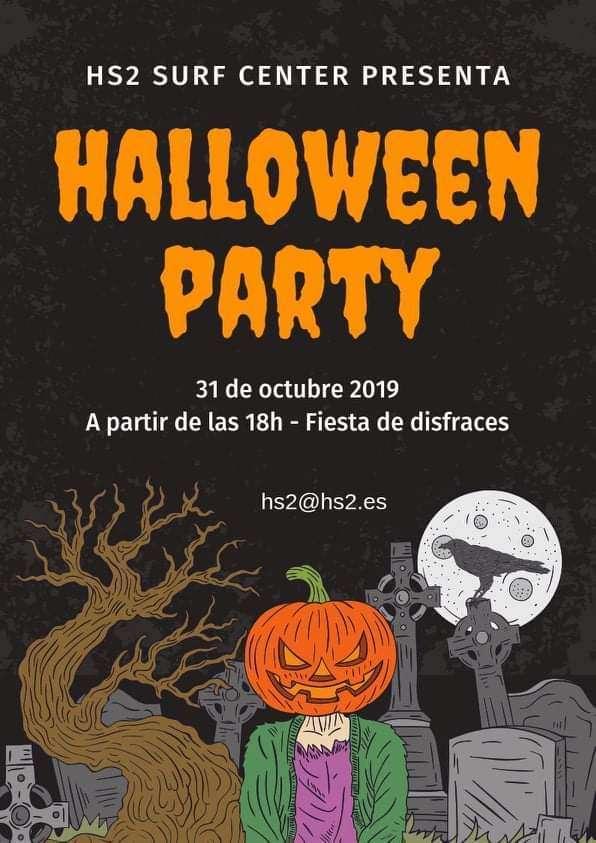 halloween PARTY-HS2-HONDARRIBIA