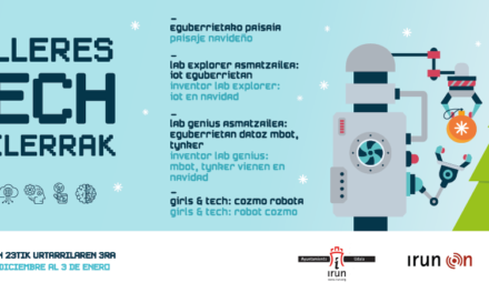 Talleres Tech Navidad 2019, en Irun