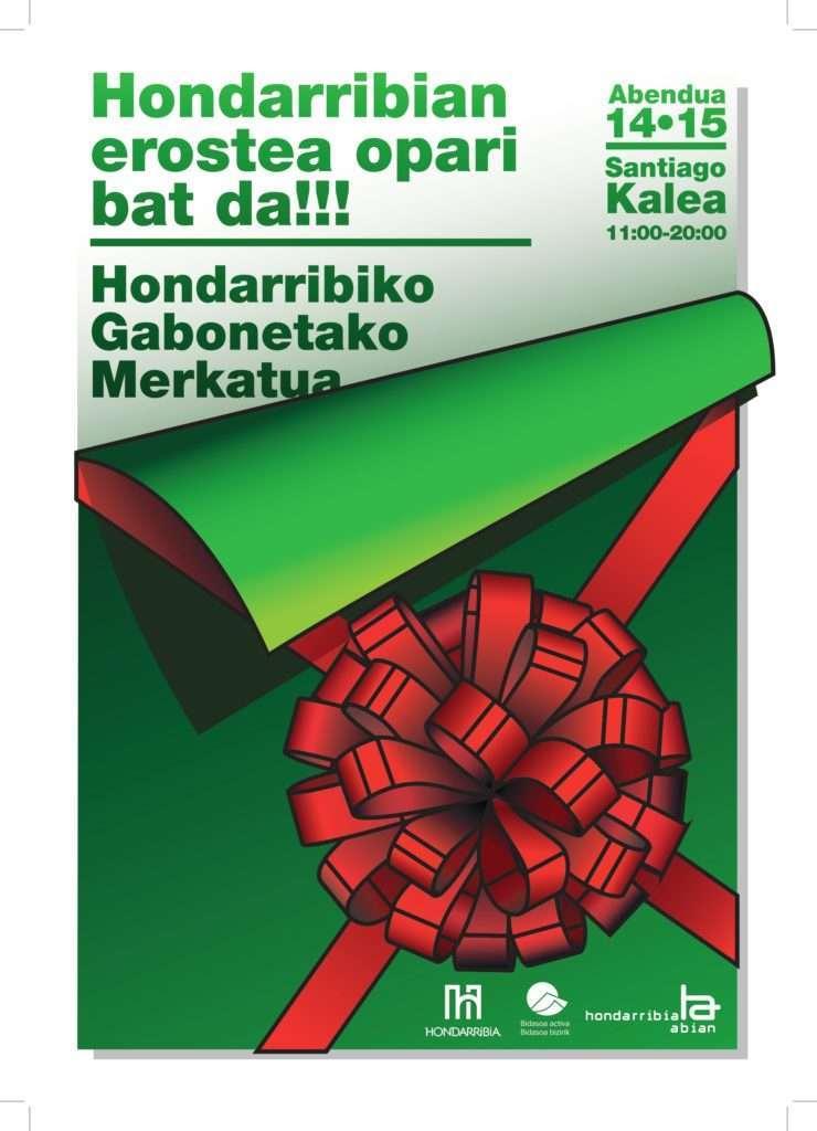 Mercado de navidad -Hondarribia