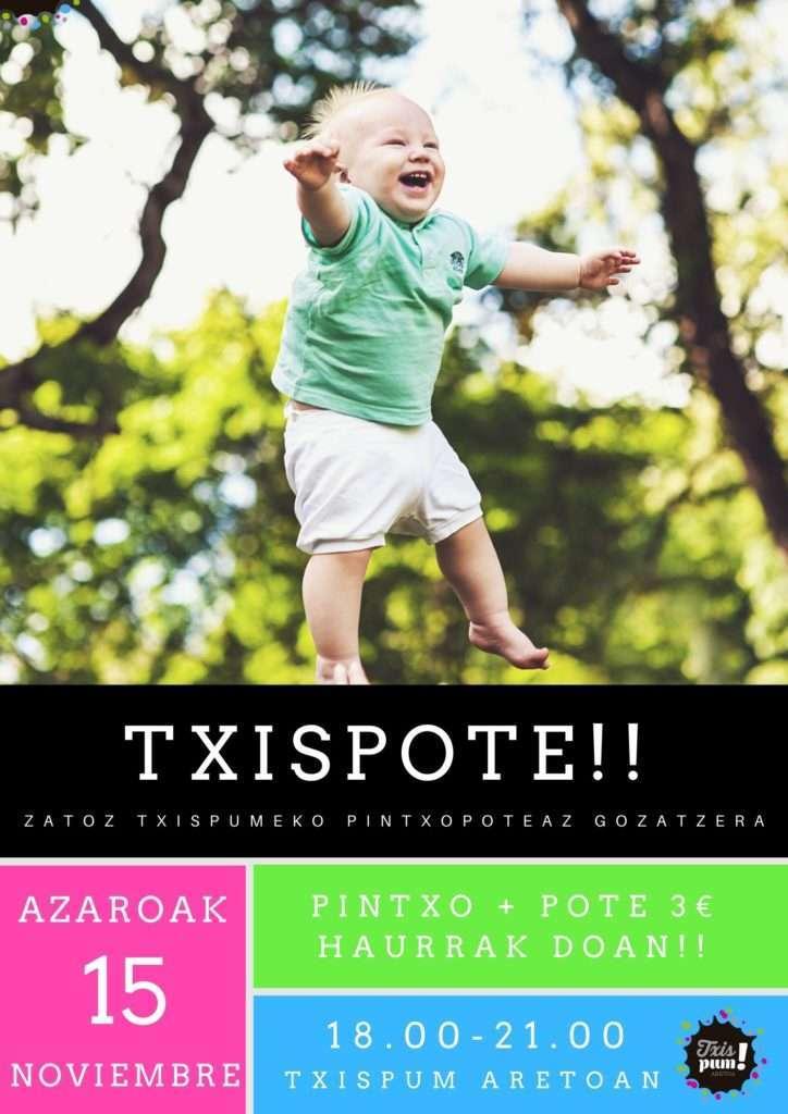 TXISPOTE-txispum-Hondarribia