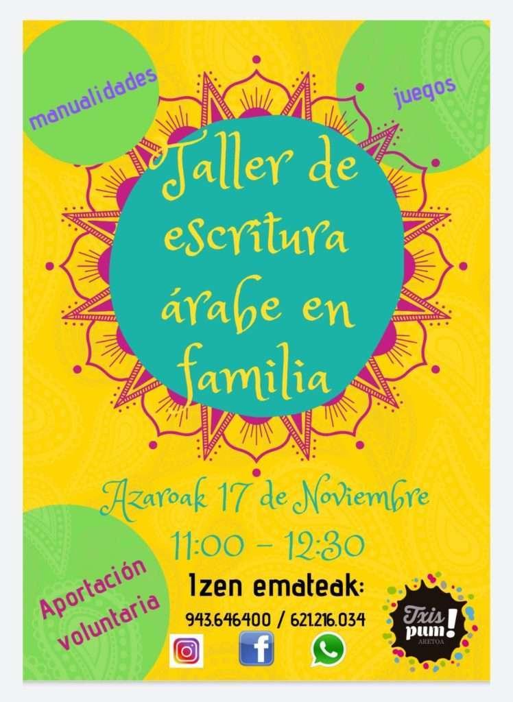 taller en familia-txispum-Hondarribia