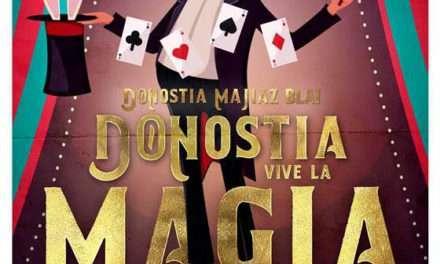 5ª edición del Festival Internacional Donostia vive la Magia en el Kursaal Donostia San Sebastián