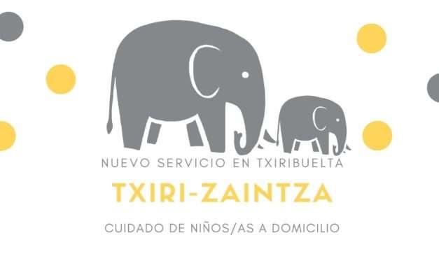 TXIRI-ZAINTZA: cuidado de niños/as a domicilio