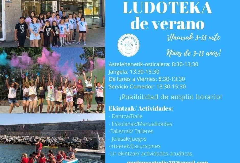 My Dance studio: ludoteca de verano 2020