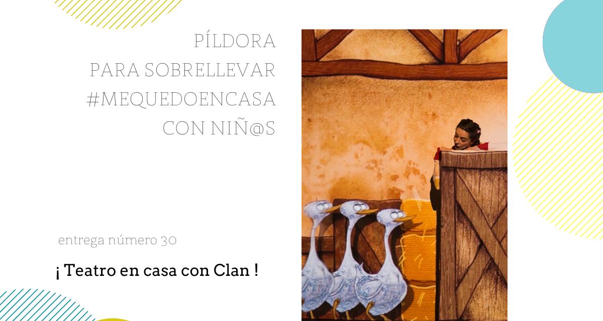 Teatro infantil en clan : píldora para el fin de semana