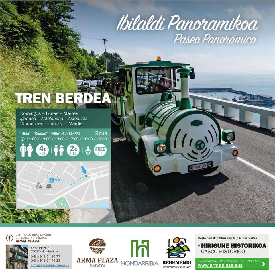 tren_verde_hondarribia_niños