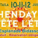 Hendaye fête l´ été : espectáculos de calle en Hendaia