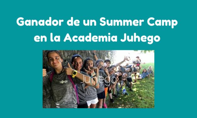 Ganador del Sorteo de un SummerCamp en la academia juhego