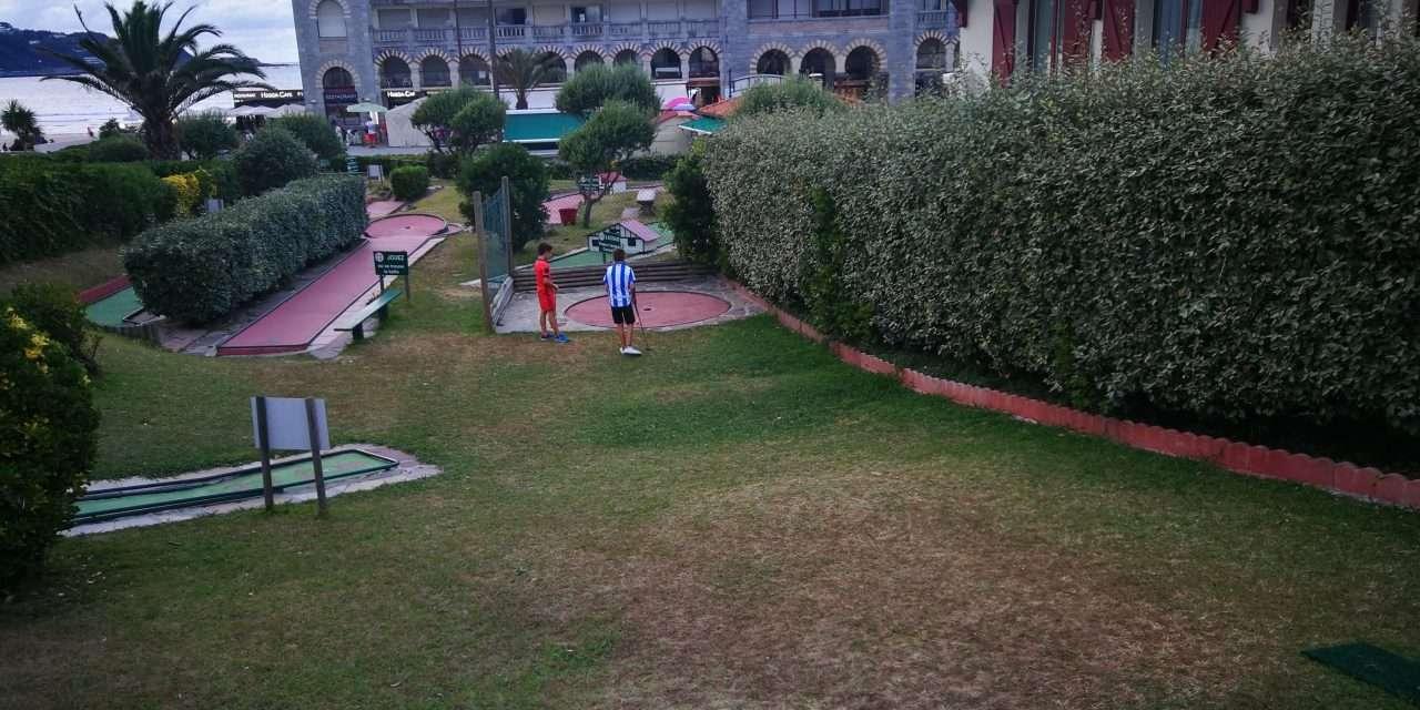 Mini- Golf en Hendaia