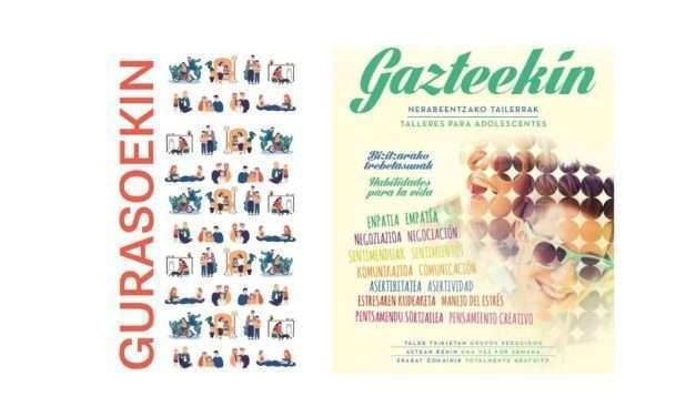 Abiertas las inscripciones para Gurasoekin y Gazteekin para el curso 2021/2022