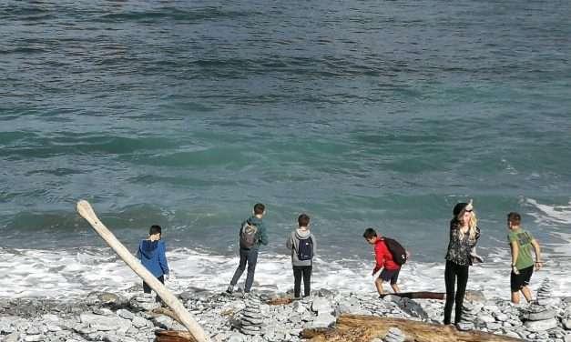 Excursión desde Hendaia hasta san juan de luz por la costa