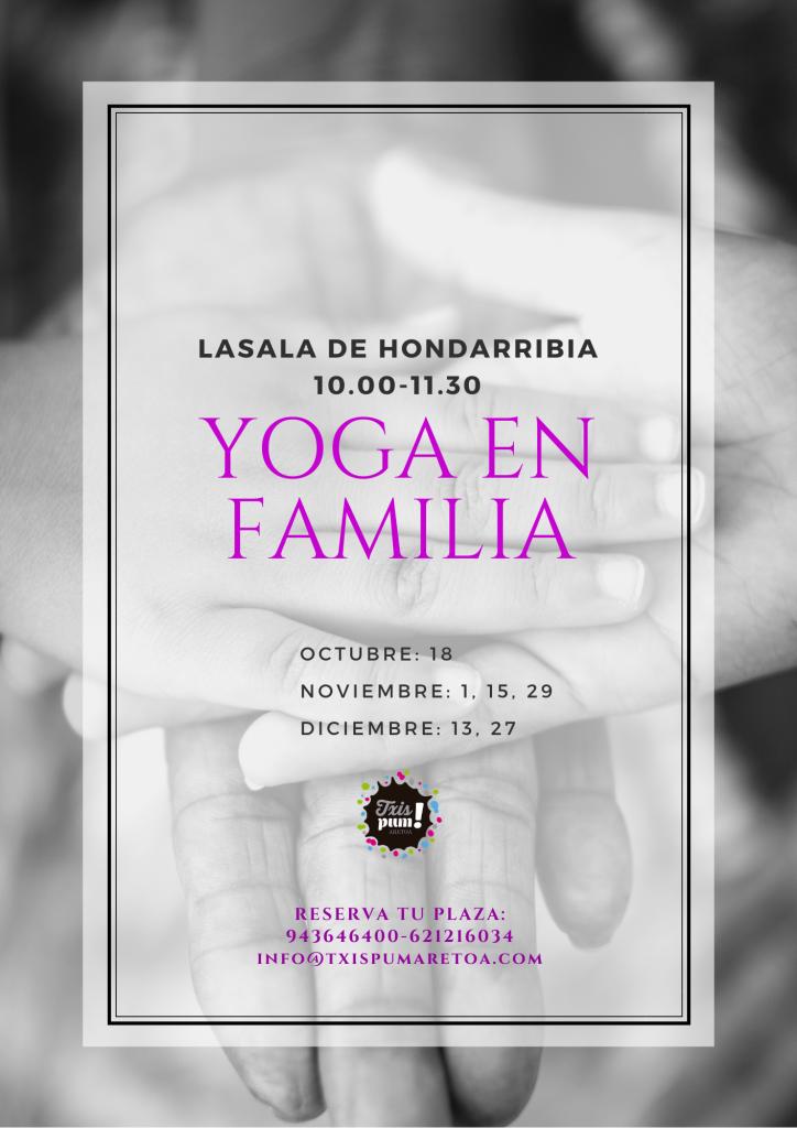 YOGA EN FAMILIA-txispum aretoa_Hondarribia