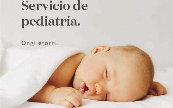 Nuevo servicio de pediatría en la clínica zuatzu irun