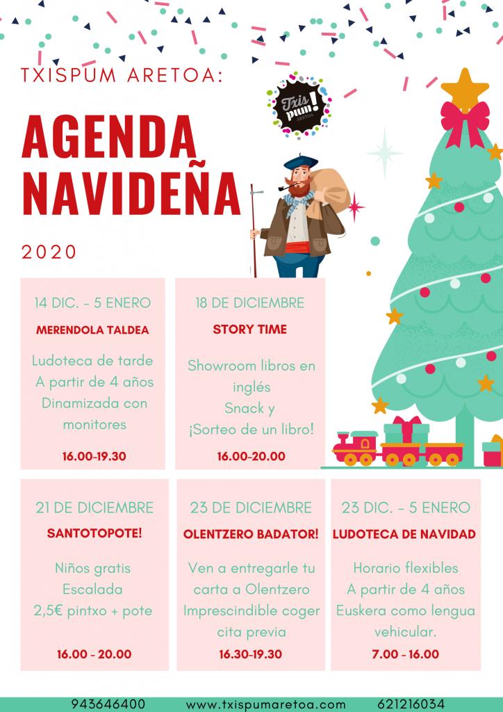 AGENDA NAVIDEÑA-txispum_Hondarribia