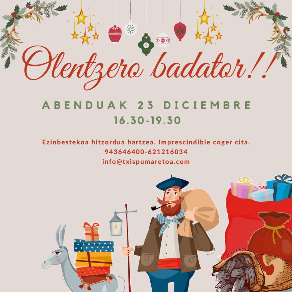olentzero badator_txispum_hondarribia