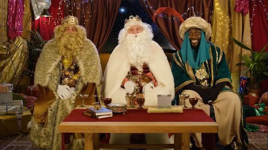 ¡ No podía faltar el mensaje personalizado de los Reyes Magos !