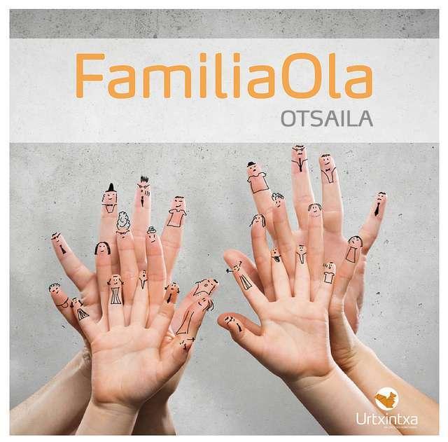 «Familiaola: Irungo familien mintzagunea» : se abren inscripciones