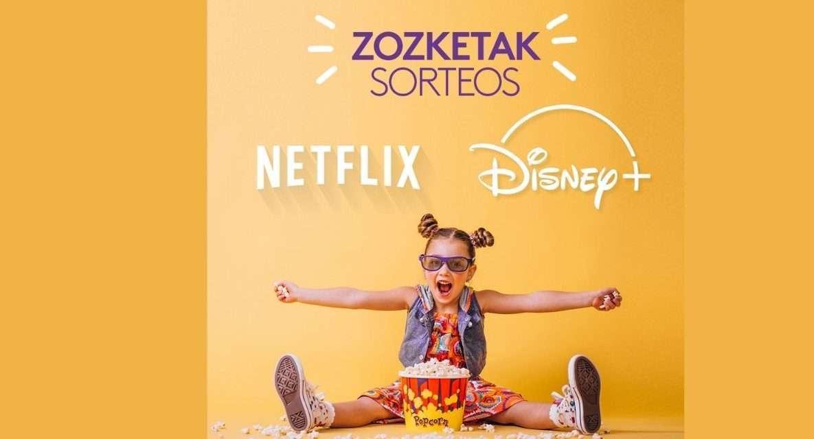 El centro comercial urbil sortea un año de suscripción a Netflix y a Disney Plus