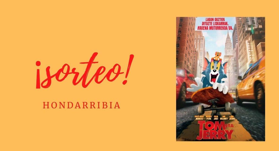 Sorteamos entradas para la película de cine familiar «tom y Jerry» en Hondarribia