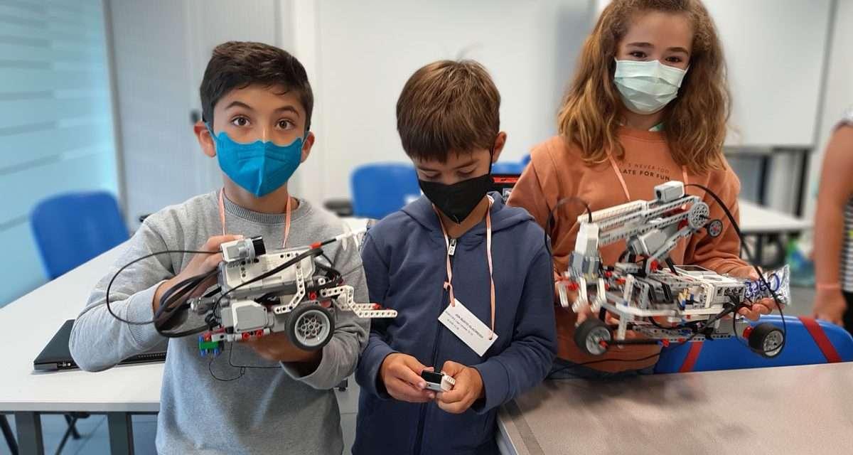 Robótica, programación y mucha ciencia en los udalekus de Eureka ! Zientzia Museoa