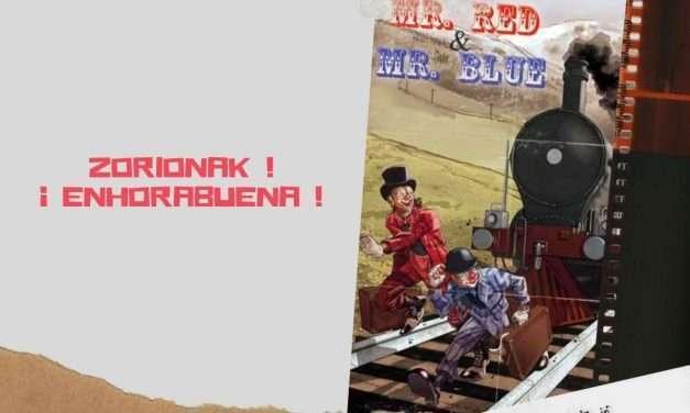 Ganadores del Sorteo de entradas para ver «Mr.Red & Mr.Blue»